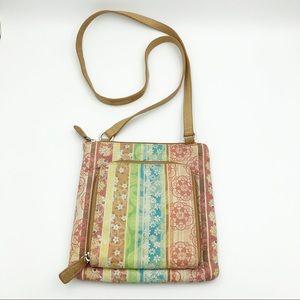 FOSSIL Vintage Multicolor Flower Vintage Bag